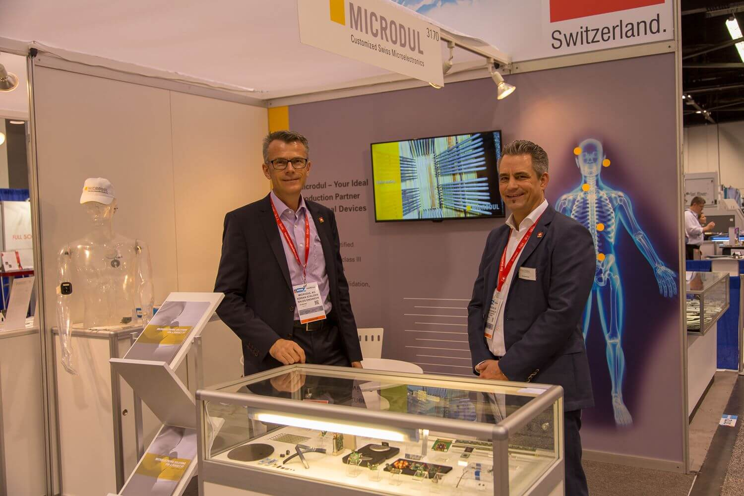 Microdul AG - Trade show: MD&M West 2018